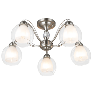 Satin Chrome Chandeliers